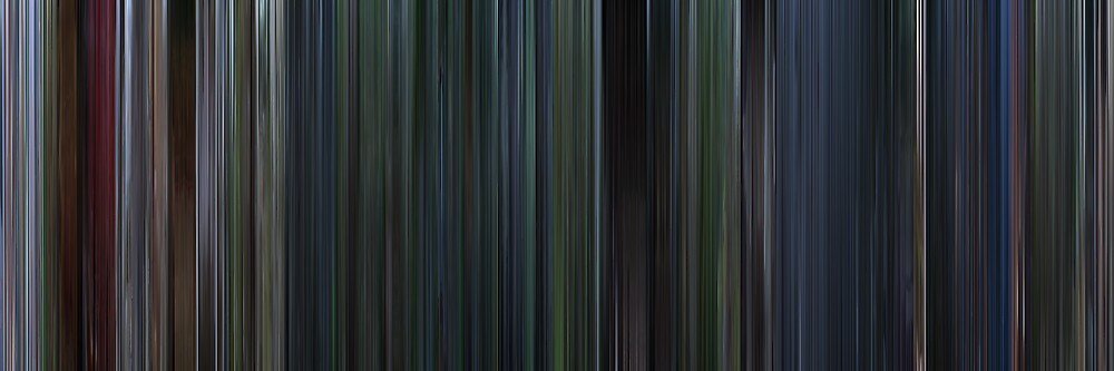 Moviebarcode: Jurassic Park III (2001) by moviebarcode