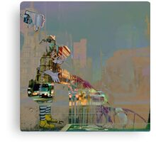 melbourne... fragments: swanston street Canvas Print