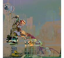 melbourne... fragments: swanston street Photographic Print