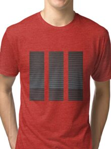 The Greyscale Collection no.6 Triptych Tri-blend T-Shirt