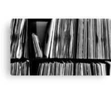 Vinyl Player Canvas Print