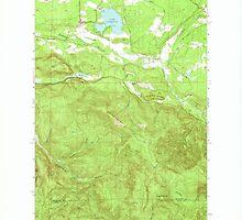 USGS Topo Map Washington State WA Lake Lawrence 241880 1959 24000 by wetdryvac