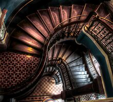 QVB Stairs by Andrew Dickman
