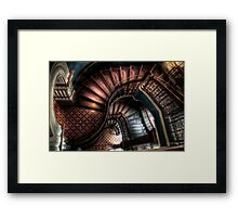 QVB Stairs Framed Print