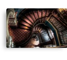 QVB Stairs Canvas Print