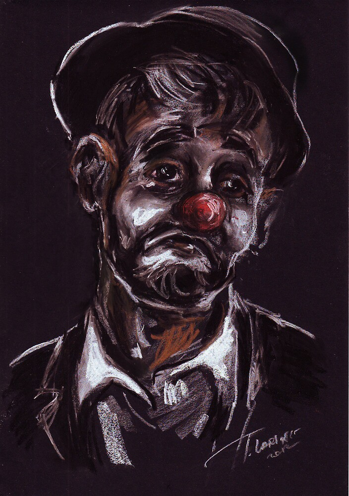 """Clown"" by Tatjana Larina"