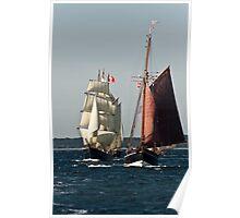 Tall ship race nr. 2 Poster