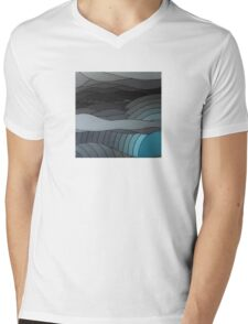The Greyscale Collection no.5 Mens V-Neck T-Shirt