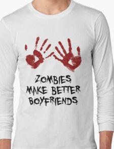 Zombie Boyfriend Long Sleeve T-Shirt