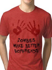 Zombie Boyfriend Tri-blend T-Shirt