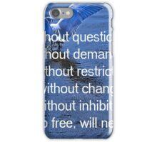 Trust me wilth question iPhone Case/Skin