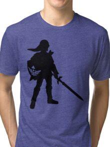 The Legend of Zelda Link Silhouette Tri-blend T-Shirt