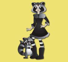 Twisted - Wild Tales: Ayasha and the Raccoon Kids Tee