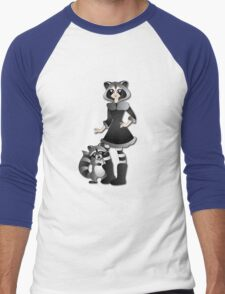 Twisted - Wild Tales: Ayasha and the Raccoon Men's Baseball ¾ T-Shirt