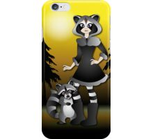 Twisted - Wild Tales: Ayasha and the Raccoon iPhone Case/Skin