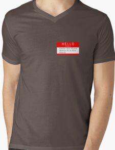 Highlander - Hello my name is... Mens V-Neck T-Shirt