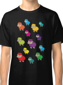 Colourful sheep Classic T-Shirt