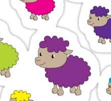 Colourful sheep Sticker
