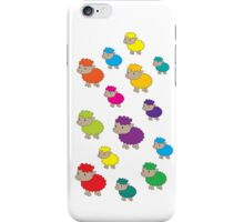 Colourful sheep iPhone Case/Skin
