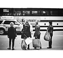 Here is Shopaholic in NYC Photographic Print
