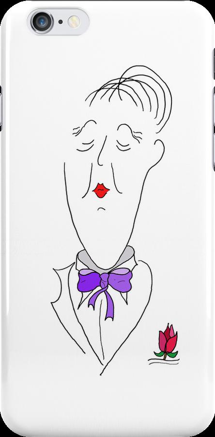Purple Tie by Richard G Witham