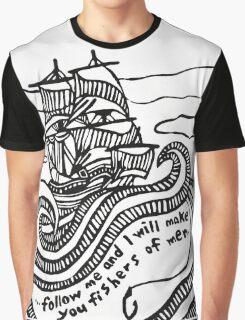 Ship Graphic T-Shirt