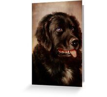 Canine Attachment Greeting Card