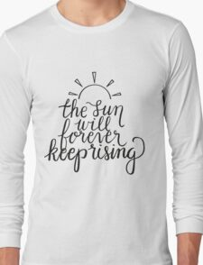 Jack's Mannequin, Keep Rising Long Sleeve T-Shirt
