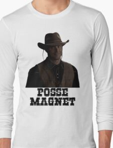 Supernatural - Dean Winchester - Posse Magnet Long Sleeve T-Shirt