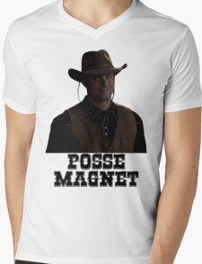 Supernatural - Dean Winchester - Posse Magnet Mens V-Neck T-Shirt