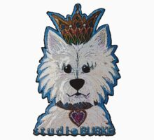 Blanca the Westie by Studio Burke
