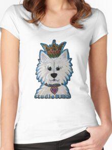 Blanca the Westie Women's Fitted Scoop T-Shirt