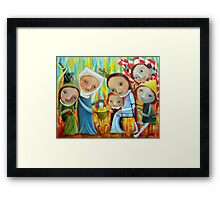 Nannies Framed Print