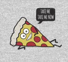 Funny & Cute Delicious Pizza Slice wants only you! Kids Clothes