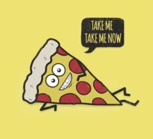 Funny & Cute Delicious Pizza Slice wants only you! Kids Tee