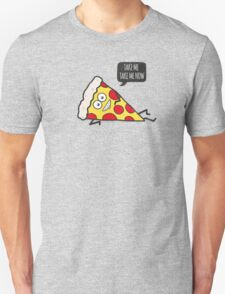Funny & Cute Delicious Pizza Slice wants only you! Unisex T-Shirt