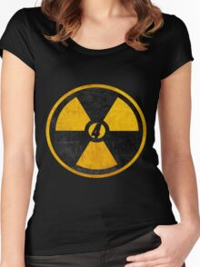 Four the Fallout Women's Fitted Scoop T-Shirt