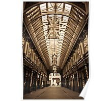 Leadenhall Market London Poster