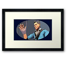 Casual Scout Framed Print