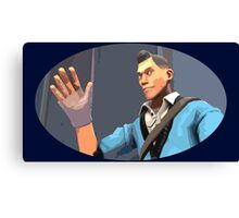 Casual Scout Canvas Print