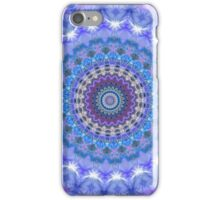 Blue Kaleidoscope Mandala iPhone case iPhone Case/Skin