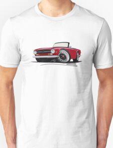 Triumph TR6 Carmine Red T-Shirt