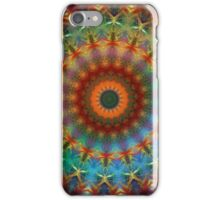 Orange Earth Rainbow mandala iPhone case iPhone Case/Skin