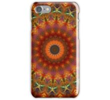 Orange Earth Mandala iPhone case iPhone Case/Skin