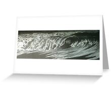 night waves Greeting Card