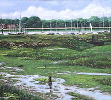 Southampton River Hamble by martyee