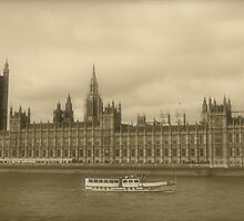 Westminster Palace and Big Ben by Heidi Hermes
