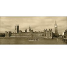 Westminster Palace and Big Ben Photographic Print