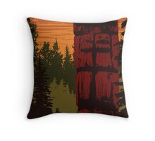 Gwaii Haanas National Park Throw Pillow