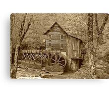 Glade Creek in Fall Canvas Print